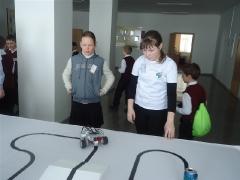 II олимпиада по робототехнике Немецкого национального района 18.03.2016