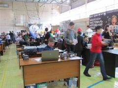 VI региональная олимпиада по робототехнике. г.Барнаул. 02.04.16 г.